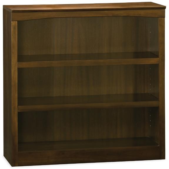 Atlantic Furniture 80034-MH 36 Inch Bookshelf Antique Walnut