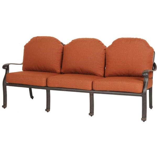 Caluco Florence Aluminum Deep Seating Sofa