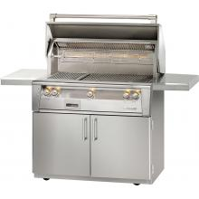 Alfresco ALXE 42-Inch Freestanding Propane Gas Grill With Sear Zone And Rotisserie - ALXE-42SZC-LP