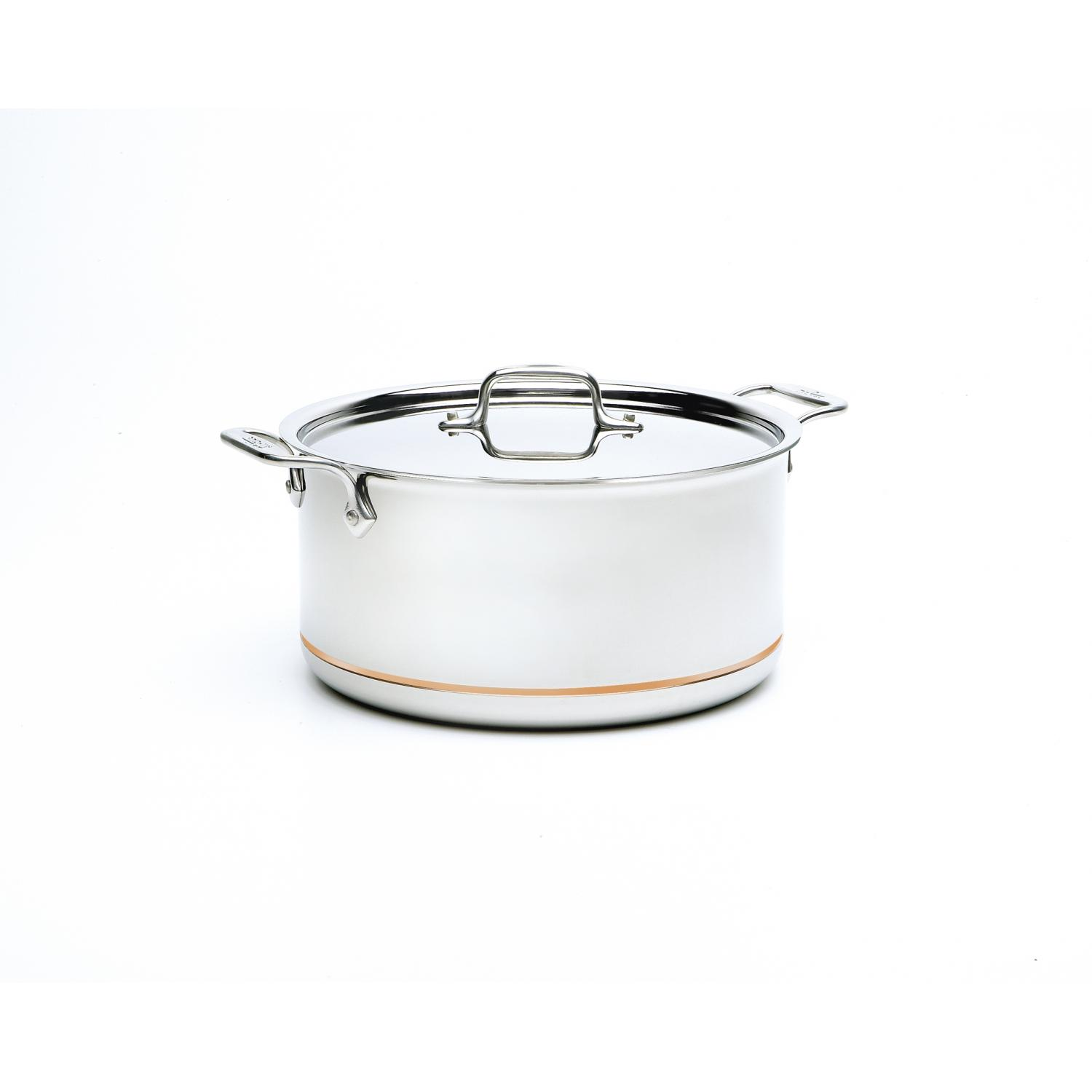 All-Clad Copper-Core 8-Quart Stockpot With Lid