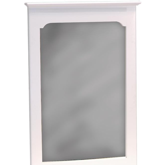Atlantic Furniture 69002 Portrait Mirror White