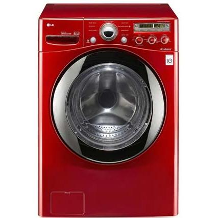 LG WM2350HRC 4.3 Cu. Ft. Front Load Washer - Red