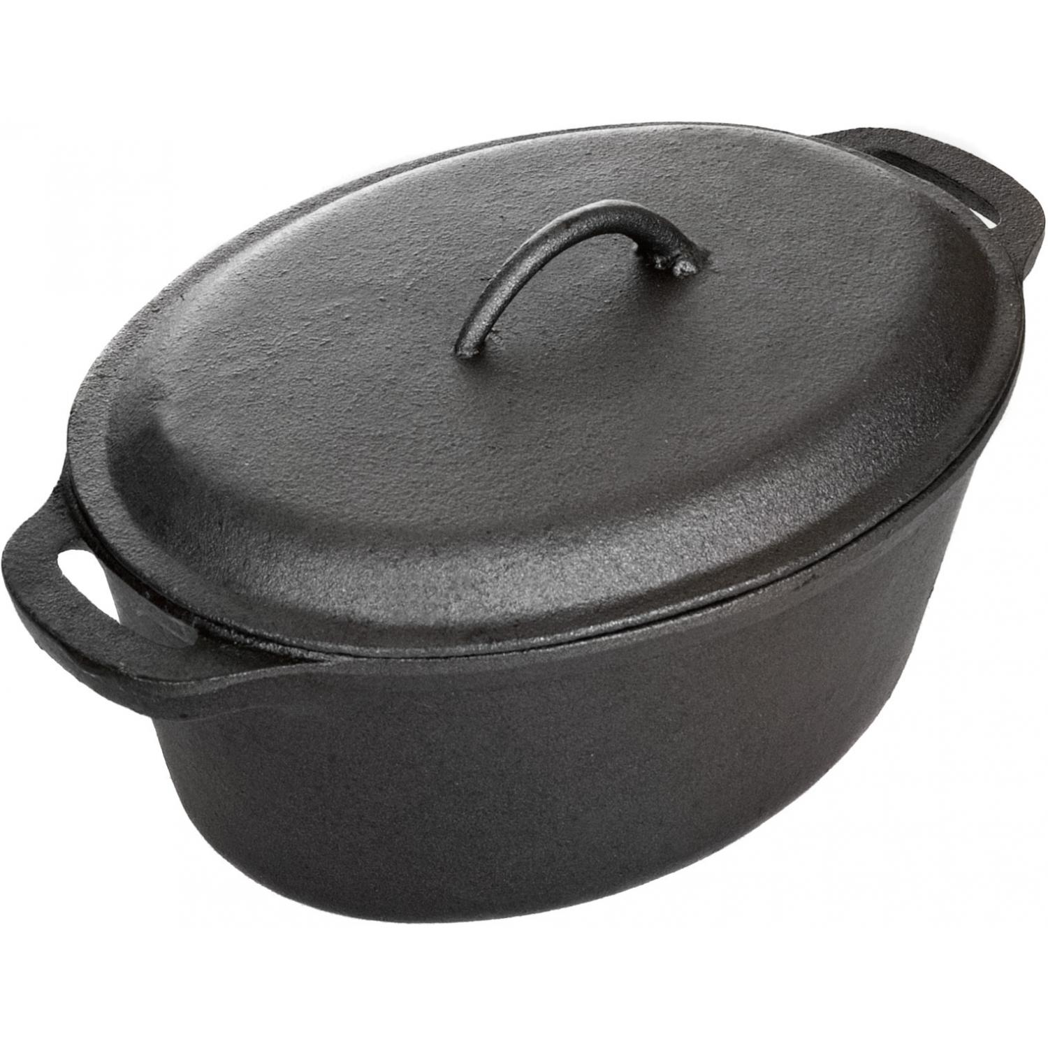 Picture of Cajun Cookware Pots 5 Quart Cast Iron Casserole Pot