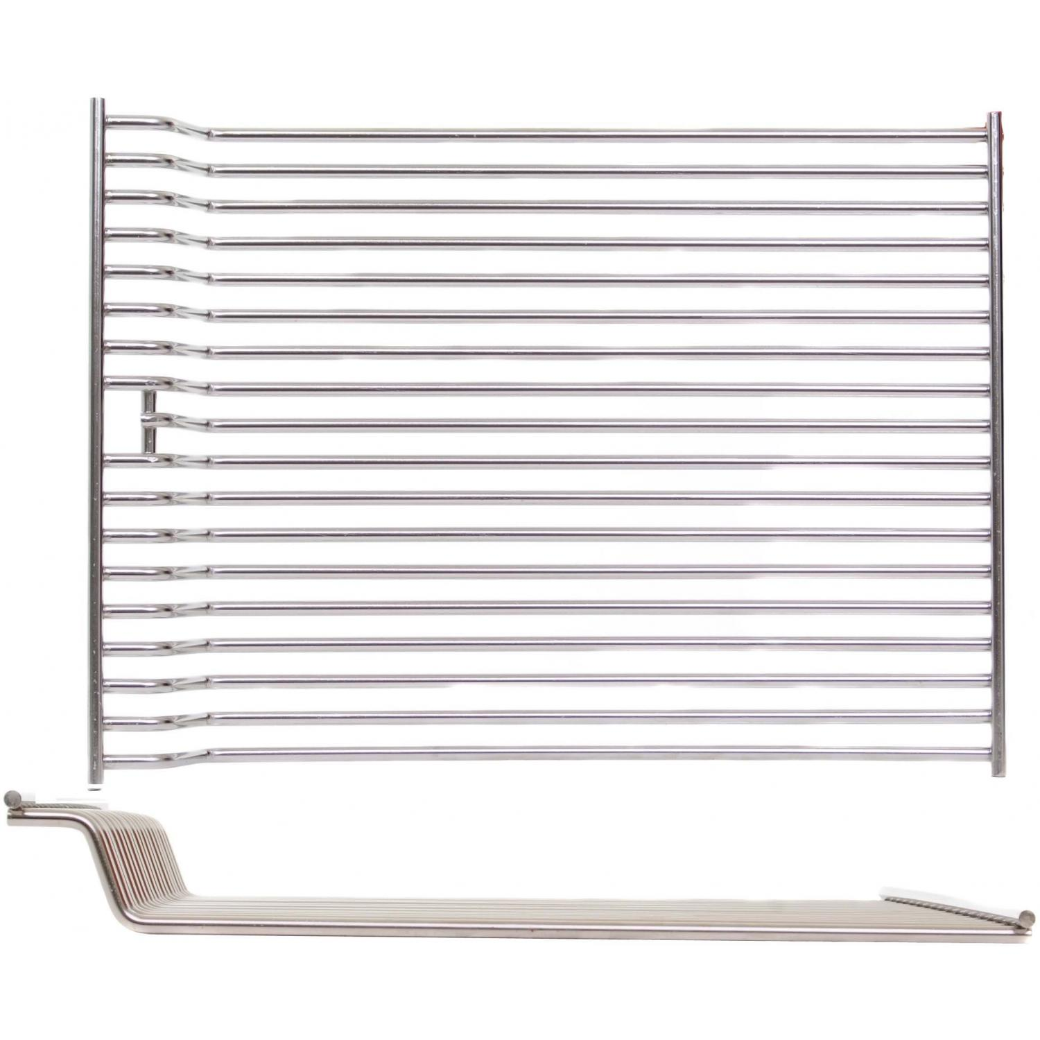 Broilmaster Stainless Steel Rod Cooking Grids For Size 3 Gas Grills (Set Of 2)