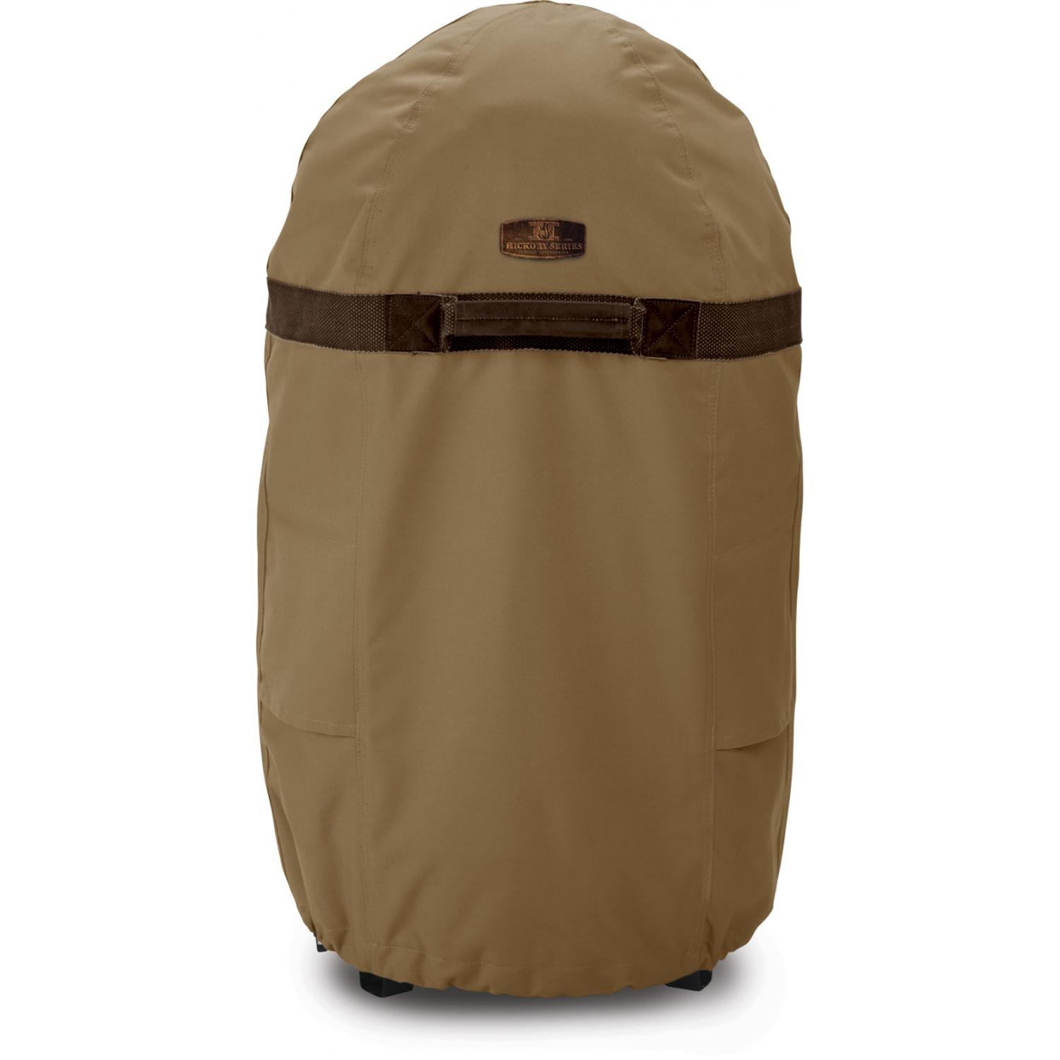 Classic Accessories Hickory Round Fryer/Smoker/Grill Cover - Hickory/Ant. Oak/Mahogany - Large