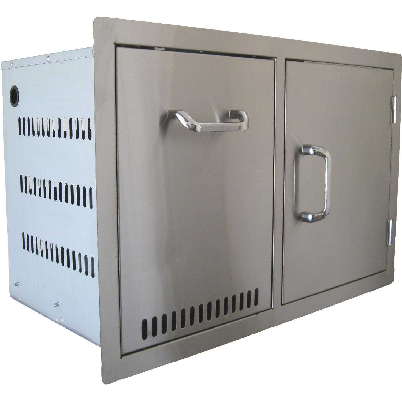 BeefEater Propane Tank/Trash Drawer & Door Combo Unit - 24240