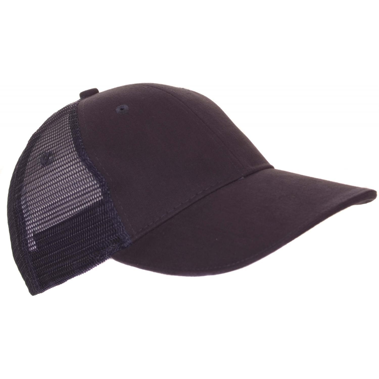Panther Vision Lighted Mesh Back Structured Hat W/ 4 LED Lights - Navy