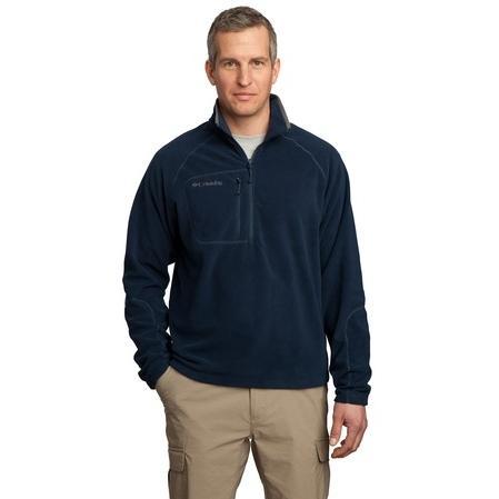 Columbia Western Trek 1/2-Zip Pullover Jacket Large - Columbia Navy