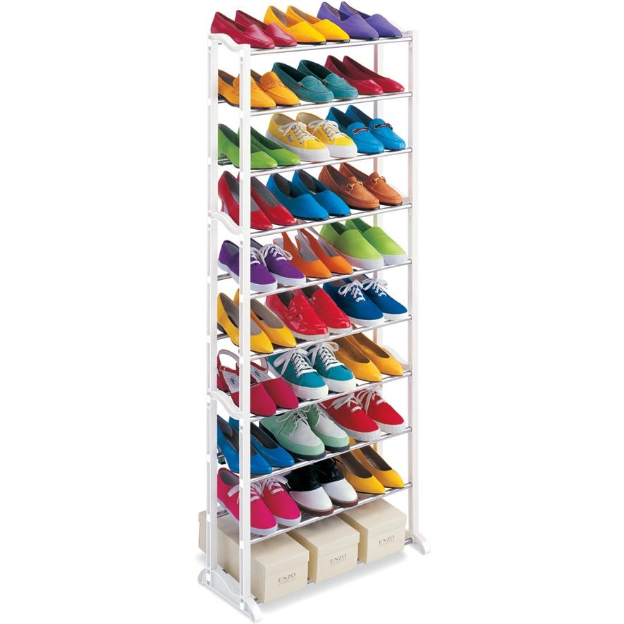 Lynk 30 Pair Shoe Rack - 1459014DS