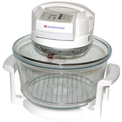 Sunpentown Turbo Convection Oven SO-2002 - Nano-Carbon Fiber Heating; Digital Controls; White