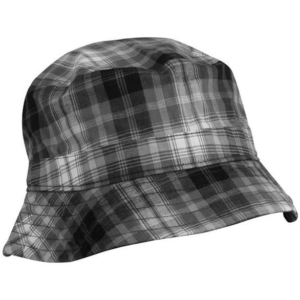 Outdoor Cap Plaid Bucket Hat - Grey Plaid
