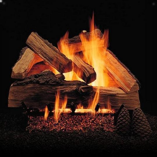 Picture of Alpine Flame 18-Inch Grand Mountain Vented Natural Gas Log Set