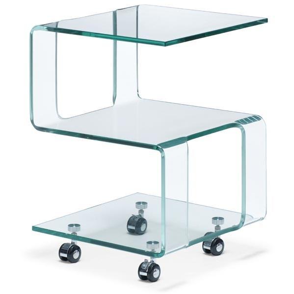 Zuo Modern - Magellan Side Table Clear - 404109