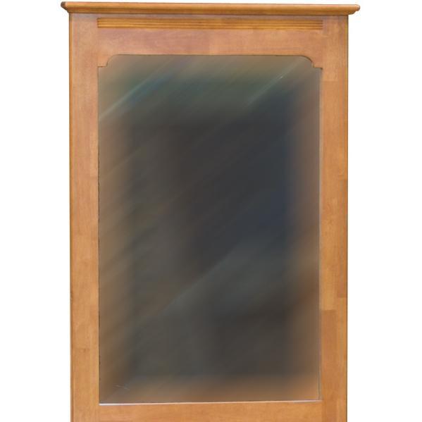 Atlantic Furniture 69007 Portrait Mirror - Caramel Latte