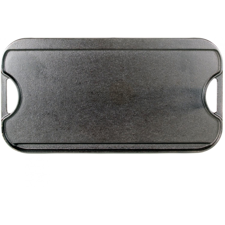 Lodge Seasoned Reversible Cast Iron Griddle - Large