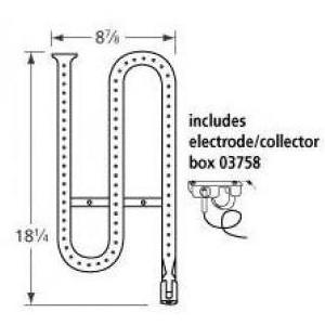 Stainless Steel Pipe Burner 16511