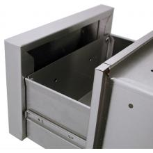 Solaire 21 Inch Extra Deep Double Access Drawer - SOL-2D21D Inside Drawer Front