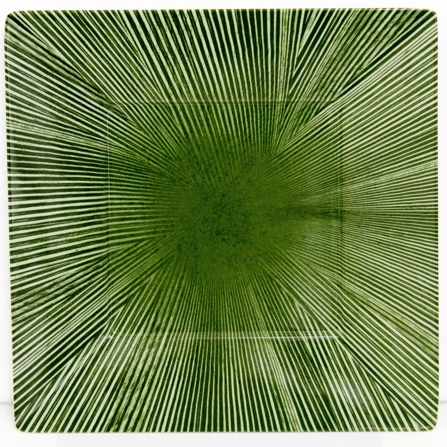 Picture of Bamboo Textures 11-Inch Plate - Celadon