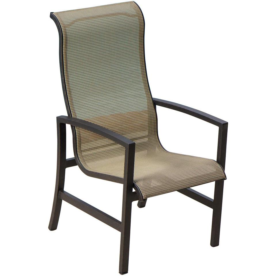 Picture of Acadia Sling Patio Dining Chair By Lakeview Outdoor Designs