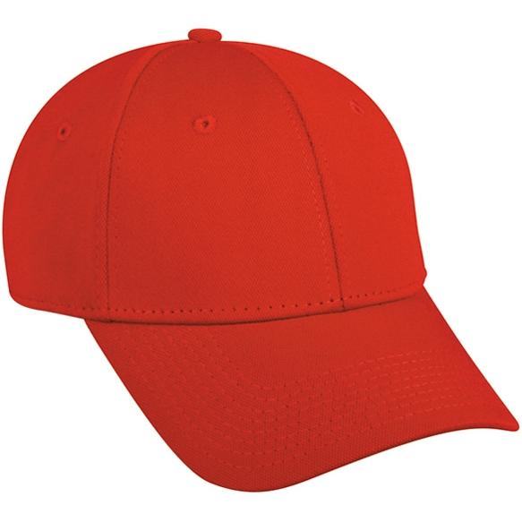 Outdoor Cap Bamboo Charcoal Performance Cap - Red