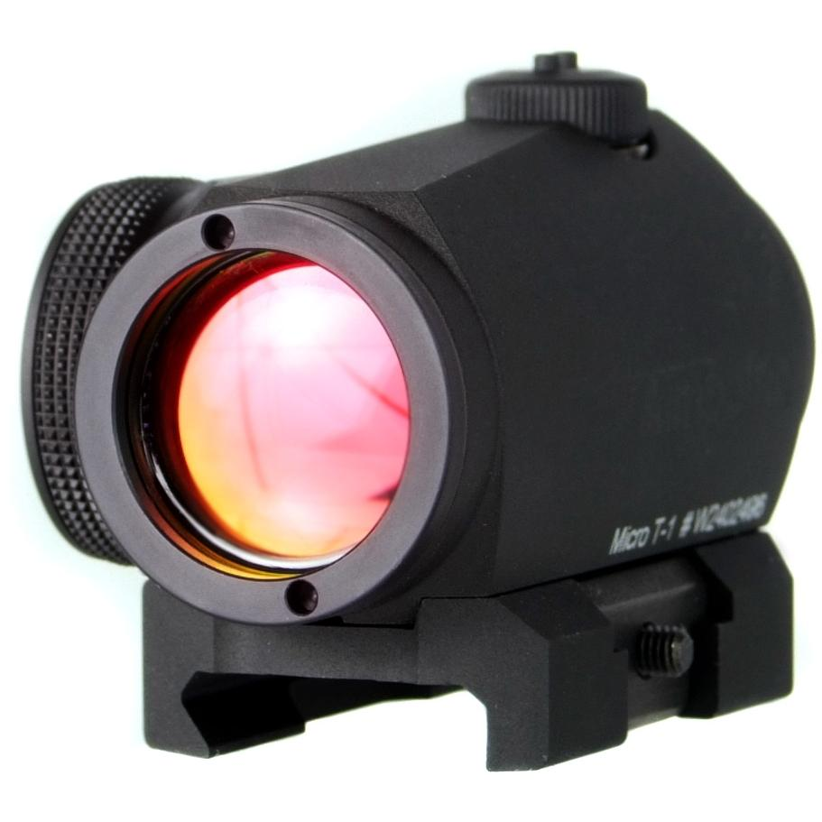 Picture of Aimpoint Micro T-1 Red Dot 4 MOA - Black - 11830