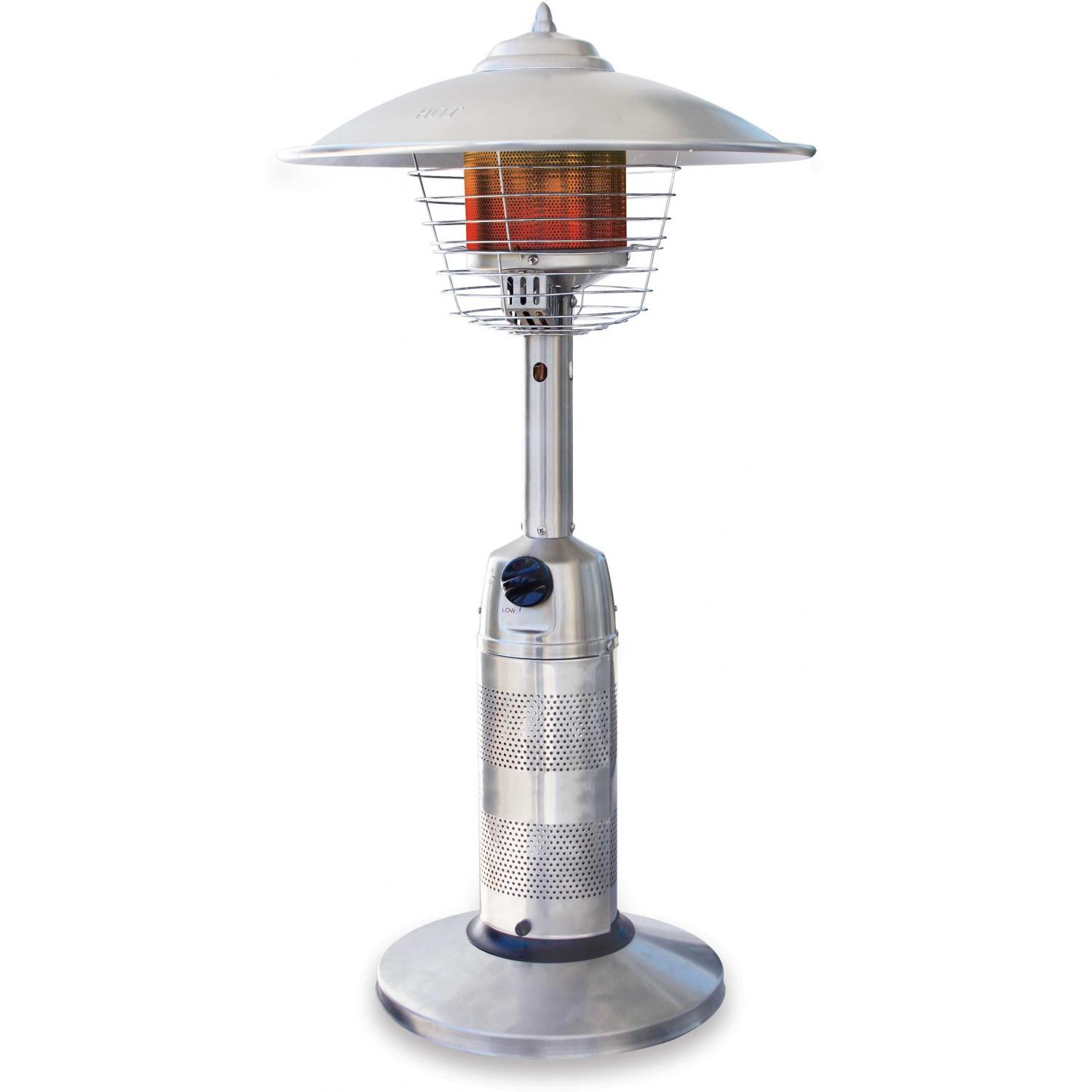 Endless Summer Stainless Steel Table Top Propane Patio Heater