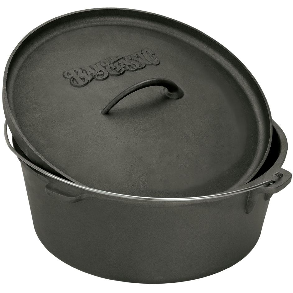 Bayou Classic Dutch Ovens 2 Quart Cast Iron Dutch Oven