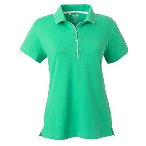 Adidas Golf Ladies ClimaLite Tour Jersey Short Sleeve Polo Shirt 2XL - Brett/White