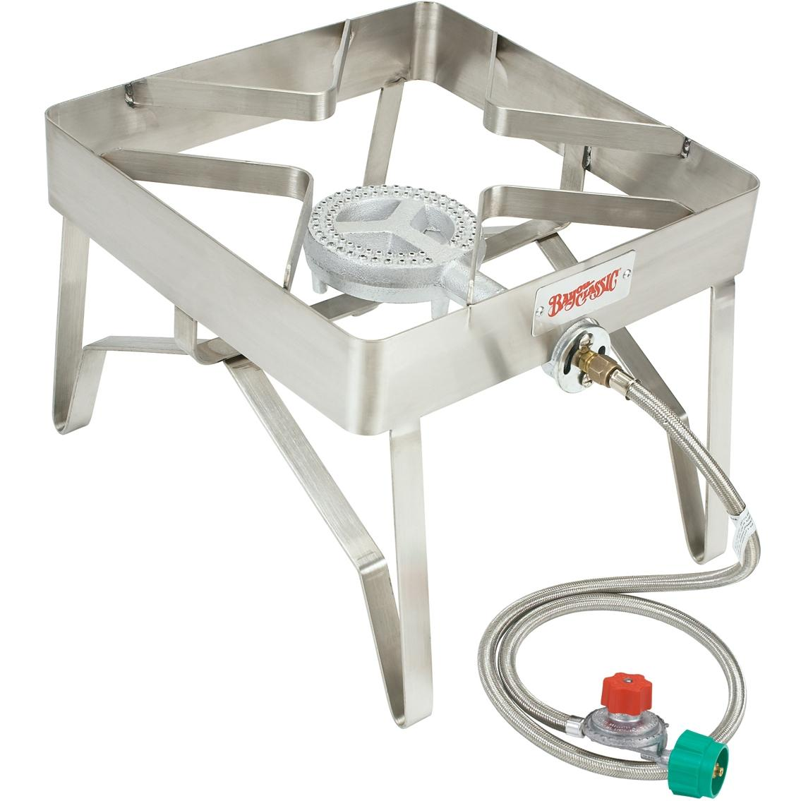 Bayou Classic Burners Stainless Steel Outdoor Stove With Low Pressure Gas Burner