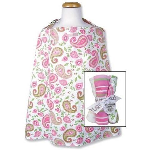 Trend Lab Nursing Cover And Burp Cloth Set - Paisley Park