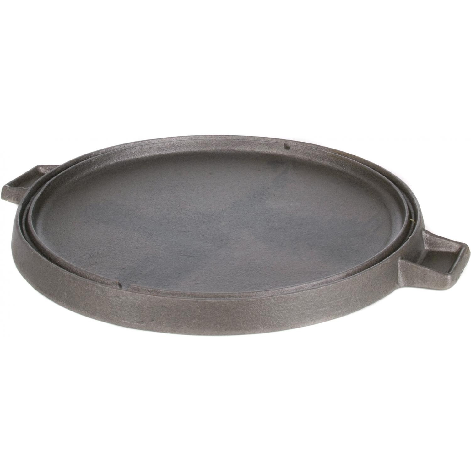 Cajun Cookware Griddles 14 Inch Reversible Round Cast Iron Griddle