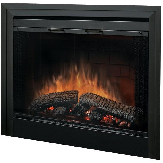 Picture of Dimplex 33-Inch Glass Fireplace Door - BFGLASS33BLK