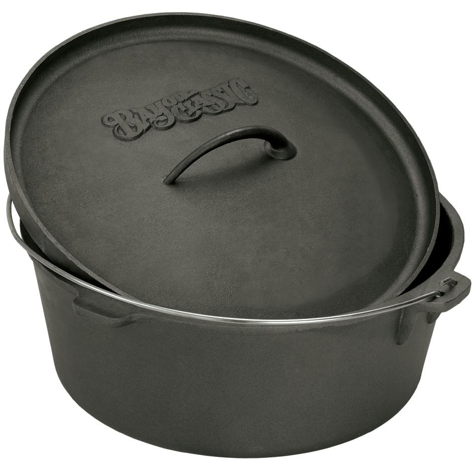 Bayou Classic Dutch Ovens 4 Quart Cast Iron Dutch Oven