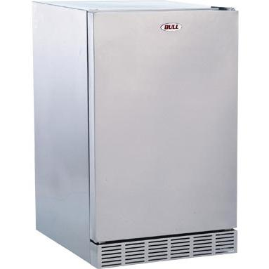 Bull 4.1 Cu. Ft. Stainless Steel Compact Outdoor Rated Refrigerator