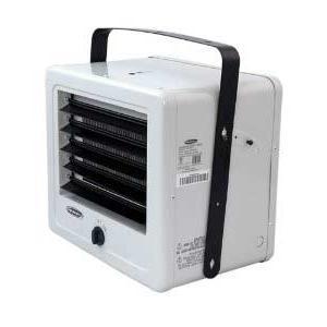 Soleus HI1-50-03 5,000 Watt Electric Garage Heater With Adjustable Louvers