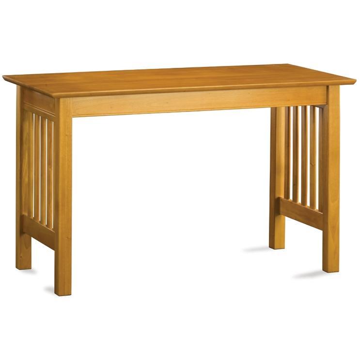 Atlantic Furniture 6041700 Mission Work Table - Caramel Latte