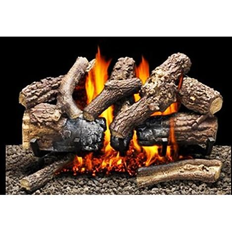 Firegear 18-Inch Tree House 11 Vented Log Set Without Burner
