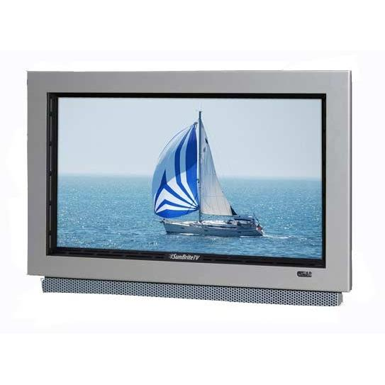 SunBriteTV All-Weather 22-Inch LCD Outdoor HDTV With Articulating Wall Mount, Remote & Cover - Silver