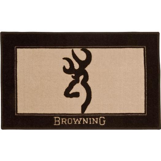 Browning Buckmark Brown-Bath Mat