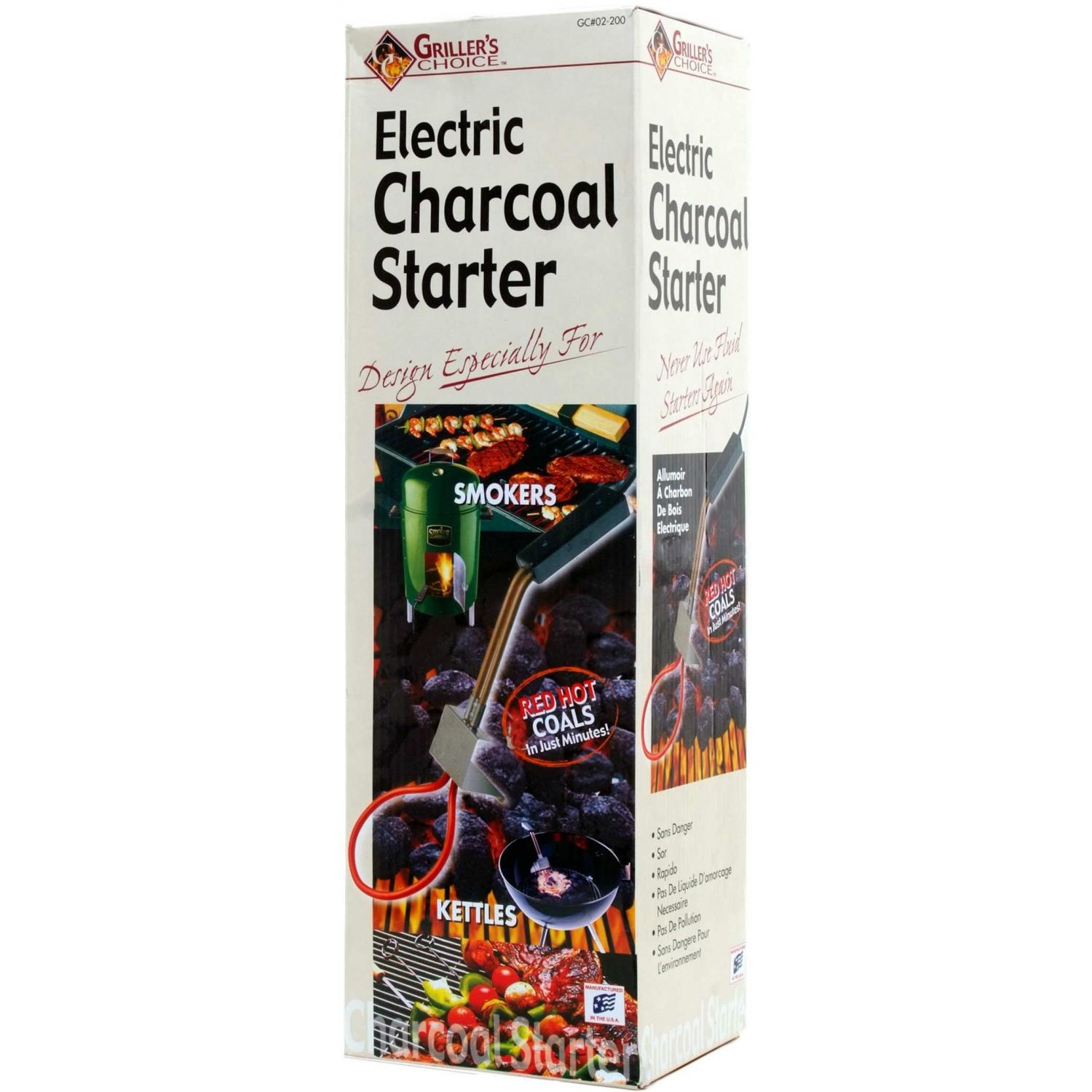 Meteor Kettle/Smoker Style Electric Charcoal Starter