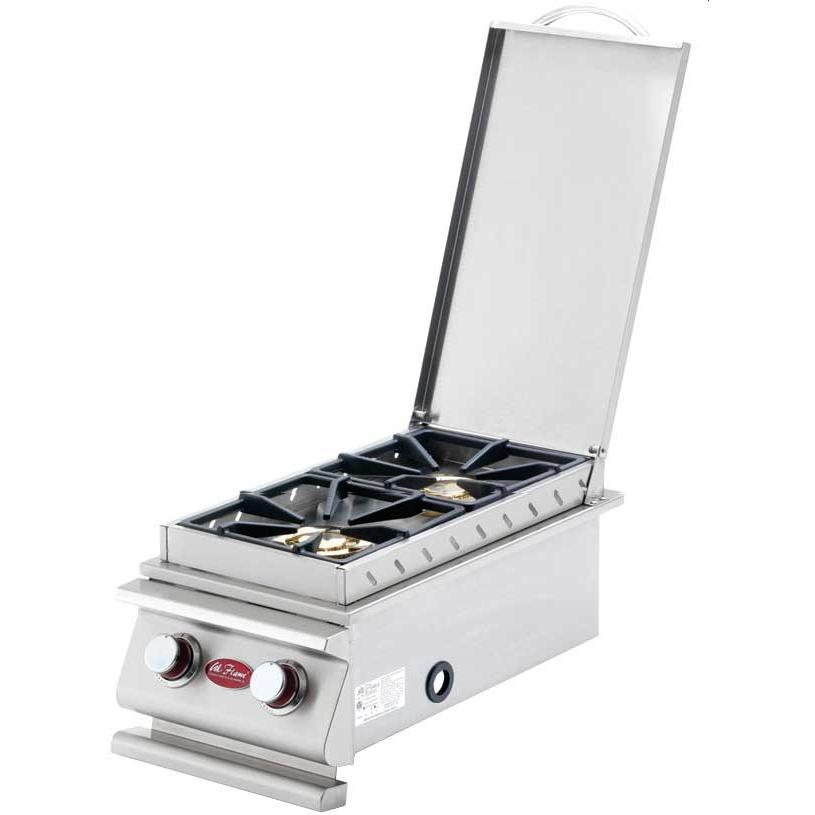 Cal Flame Deluxe Double Built-In Propane Gas Side Burner - BBQ14899P