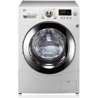LG WM3455HW 2.7 Cu. Ft. Front Load Washer / Dryer Combo - White