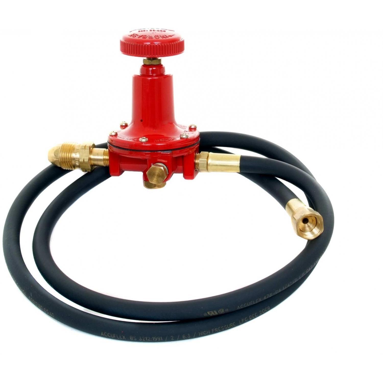 High Pressure Regulator With Hose - 5 Ft.
