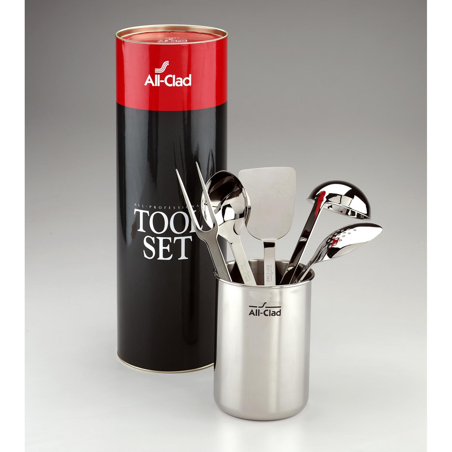 All-Clad Stainless 6-Piece Kitchen Tool Set