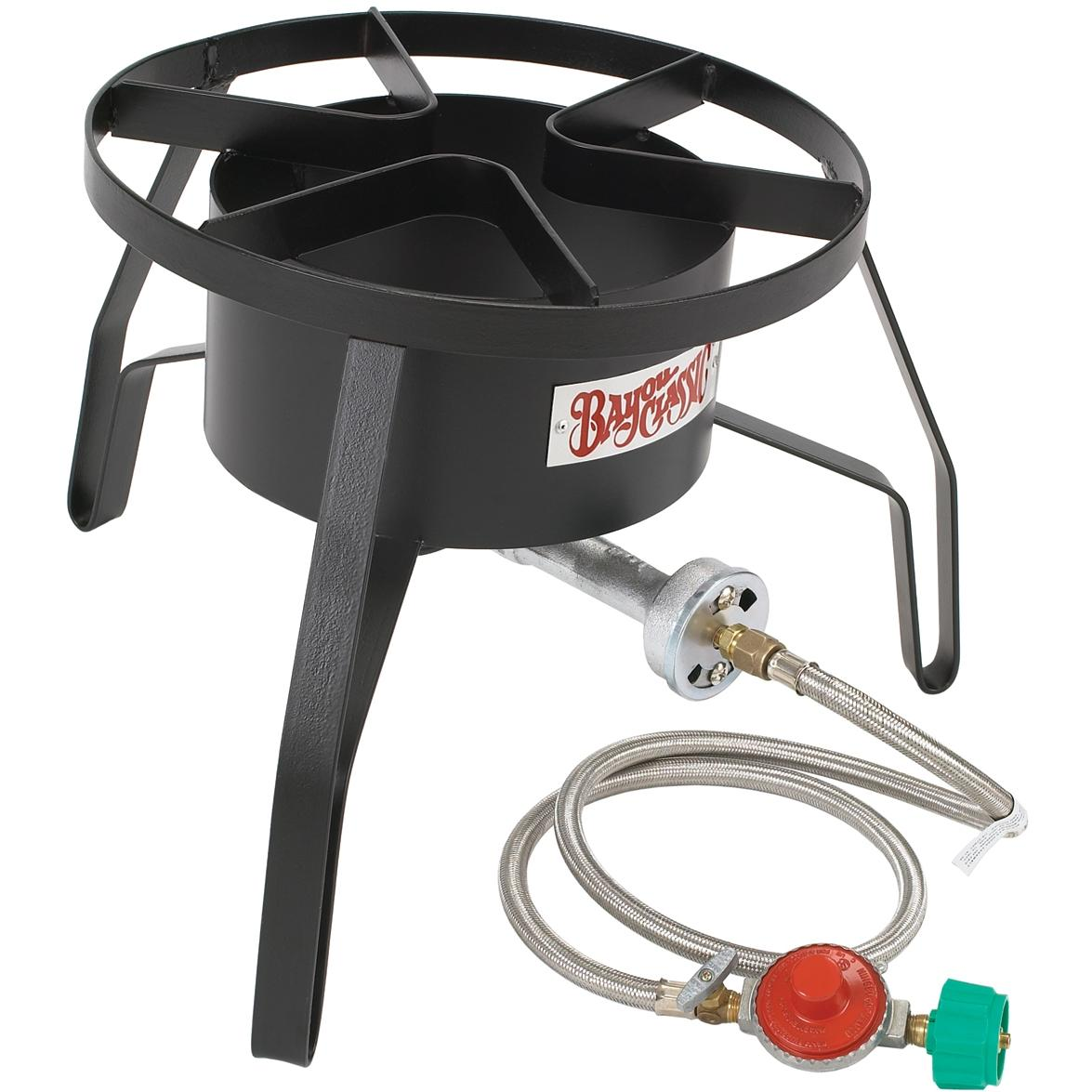 Bayou Classic High Pressure Outdoor Stove With Windscreen