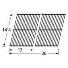 Porcelain Coated Steel Wire Rectangle Cooking Grid 54302