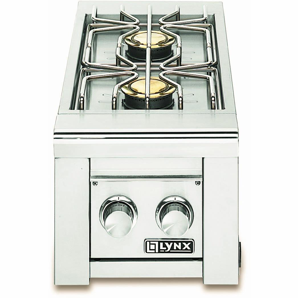 Lynx Professional Built-In Propane Gas Double Side Burner - LSB2-2-LP