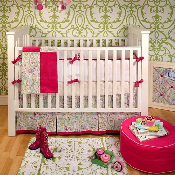 New Arrivals Crib Bumper - Sugar Baby