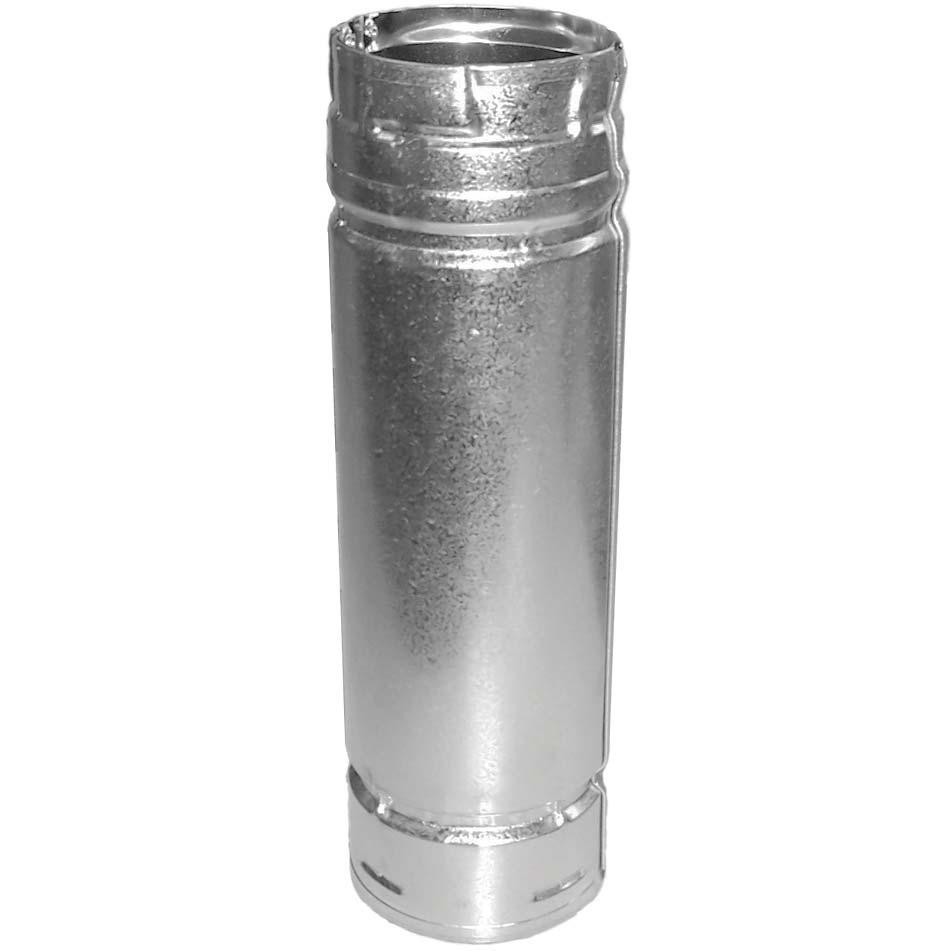 Picture of Duravent 3 X 12 DuraPlus Stainless Steel Pellet Vent Double-Wall Chimney Pipe