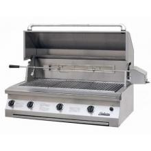 Solaire 42 Inch Built-In InfraVection Propane Gas Grill With Rotisserie - SOL-AGBQ-42VV-LP